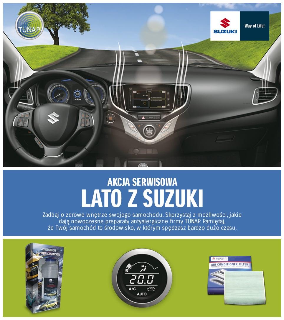 Akcja serwisowa Lato z Suzuki