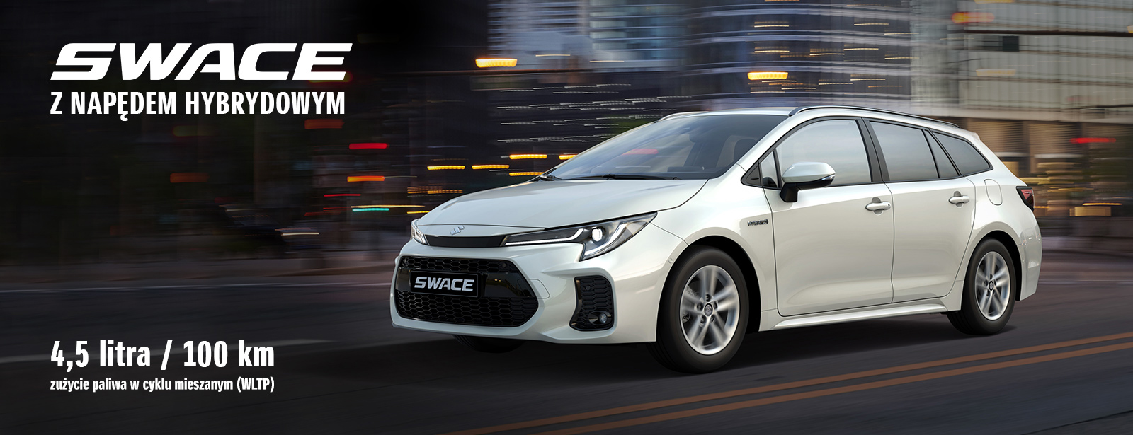 Suzuki Swace z napędem hybrydowym