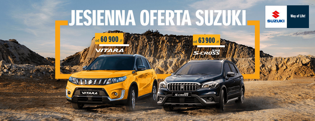 Jesienna Oferta Suzuki 2019