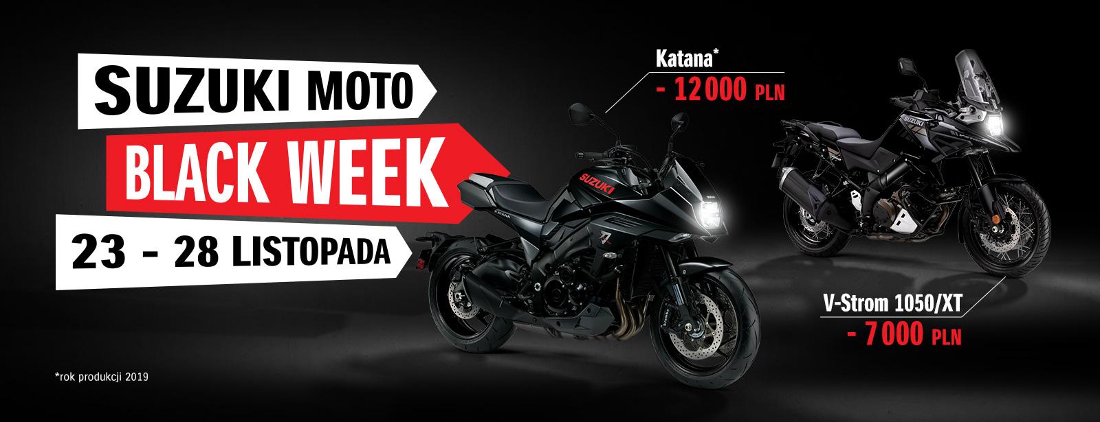 Suzuki Black Week