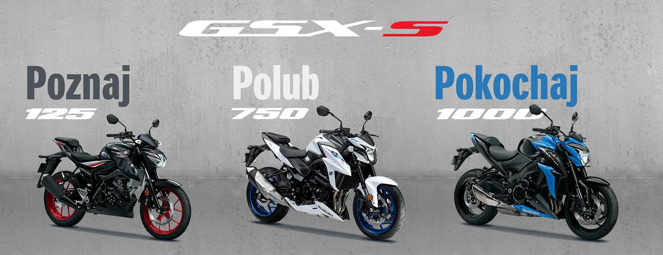 Gama motocykli GSX-S