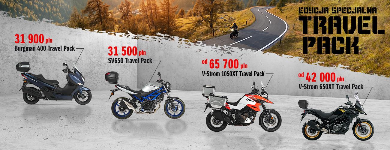 Oferta specjalna Travel Pack Suzuki - Suzuki Motor Poland