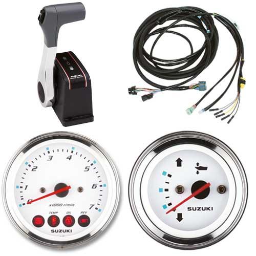 Zestaw manetki topowej dla systemu keyless, wiązka elektryczna, zegary analogowe
