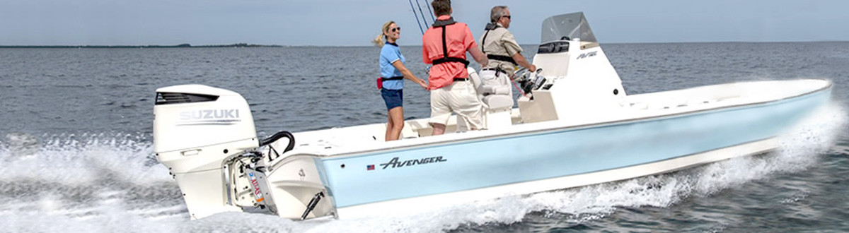 Picture of boat using DF300AP/DF250AP