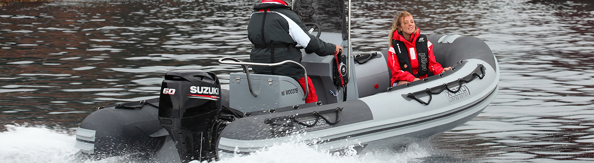 Picture of boat using DF60A