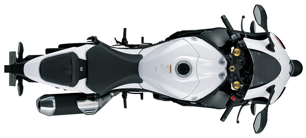 Widok od góry - GSX-R1000