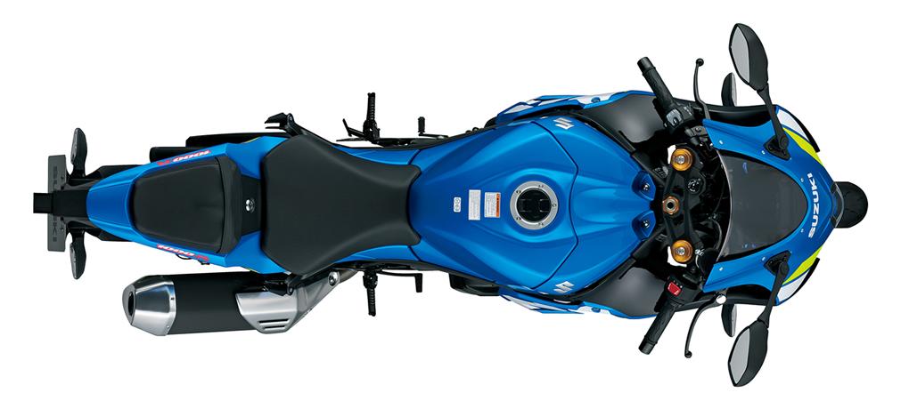 Widok od góry - GSX-R1000R