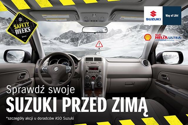 Suzuki przed zimą
