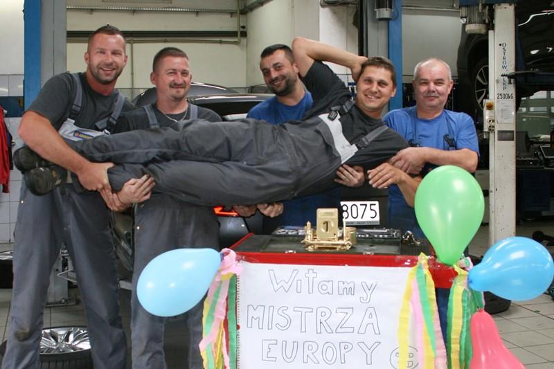 Polak Mistrzem Europy Mechaników Suzuki