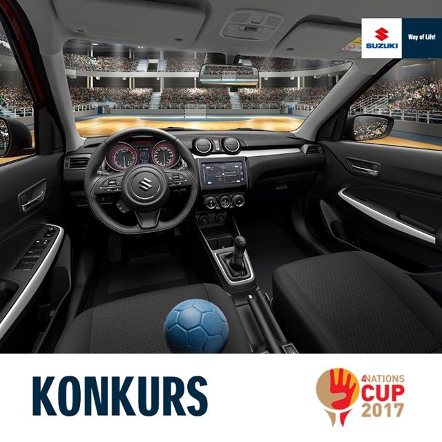 Suzuki partnerem Pucharu4Narodów