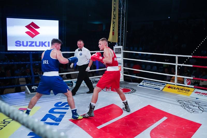 Suzuki w międzypaństwowym meczu bokserskim
