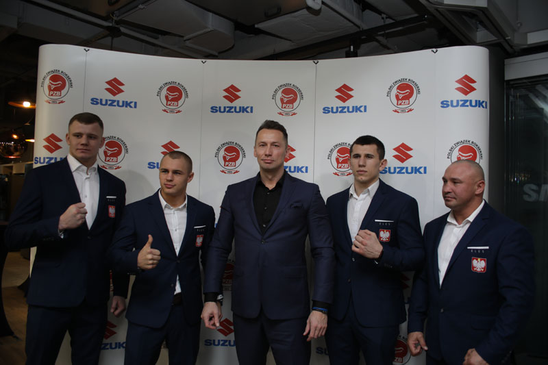 Suzuki sponsoruje polski boks