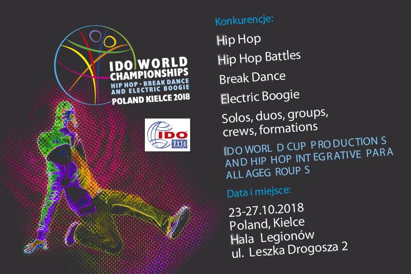 Suzuki sponsorem Mistrzostw Świata IDO Hip Hop, Break Dance and Electric Boogie