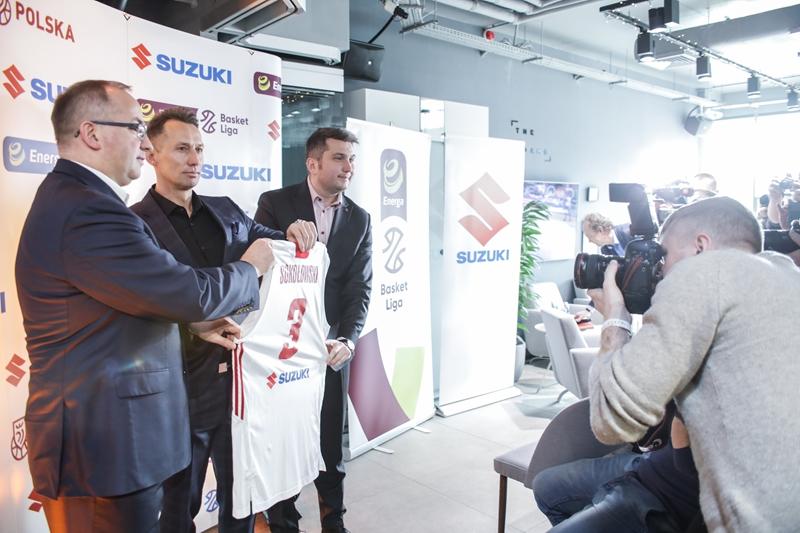 Suzuki napędza koszykówkę
