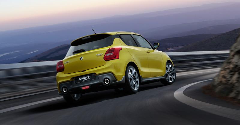 Nowy, lżejszy i szybszy Suzuki Swift Sport trafia do sprzedaży