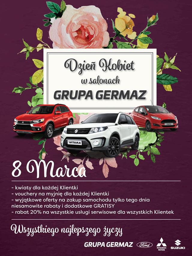8 Marca świętujemy w naszym salonie Suzuki Dzień Kobiet.