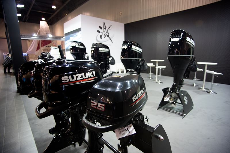Suzuki na targach Wiatr i Woda