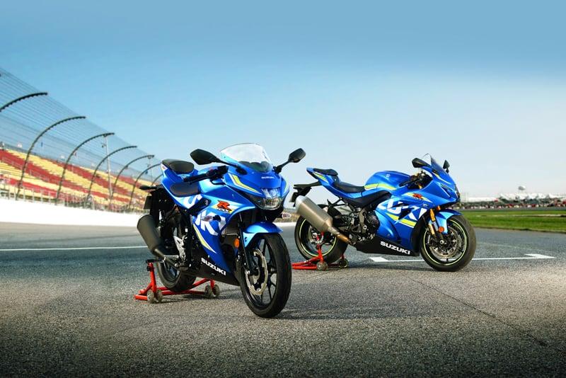 Nowy motocykl GSX-R z najmniejszym silnikiem w tej serii: GSX-R125