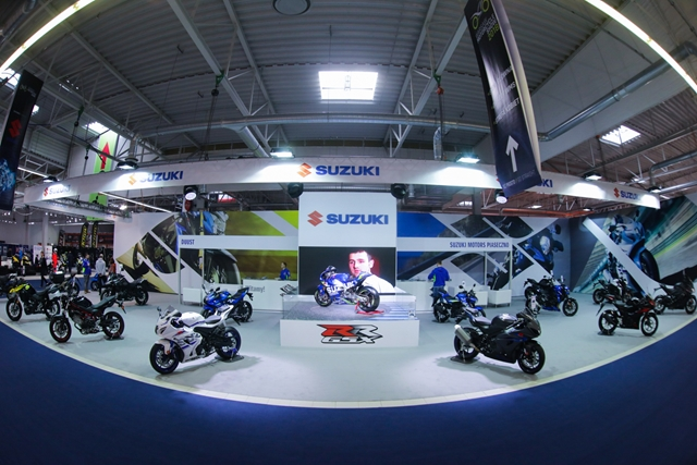 Suzuki na targach Warsaw Motorcycle Show
